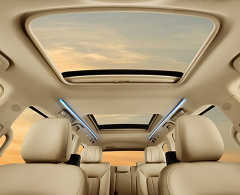 GN8 panoramic sunroof