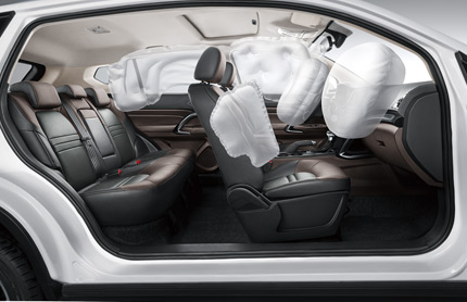 GAC GS3 Airbags