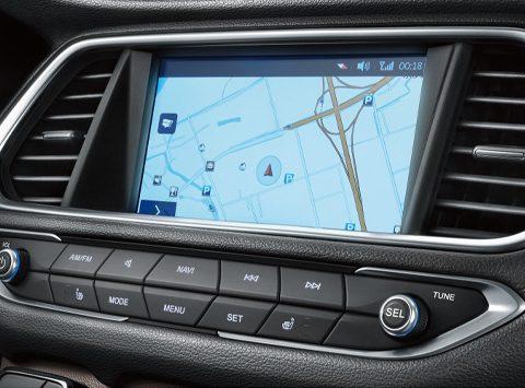 8-inch navigation aystem