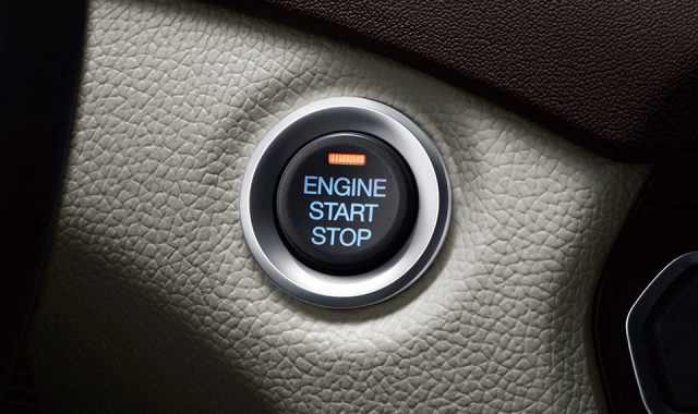 GAC GS8 push start button