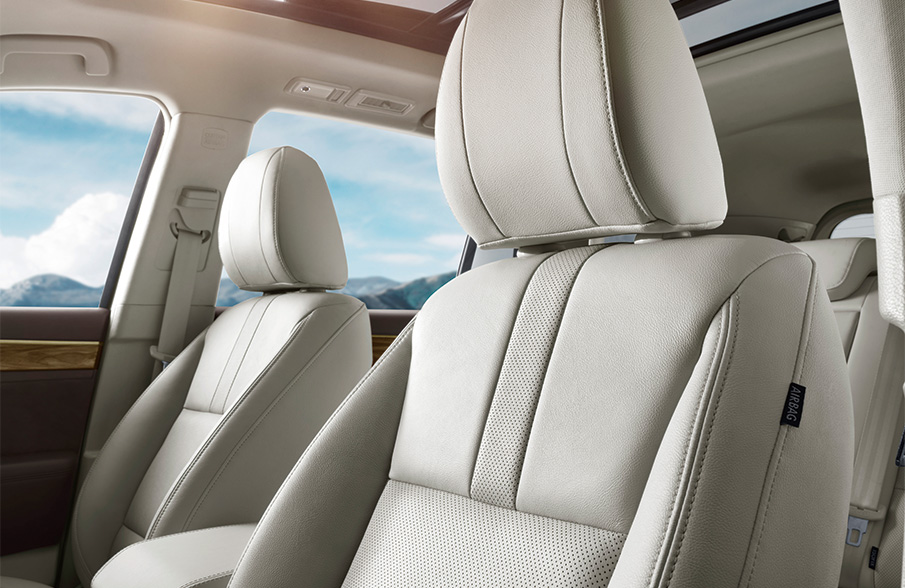 GAC GS8 leather seats