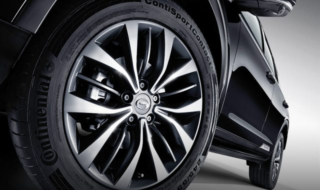GS8 alloy wheel hub