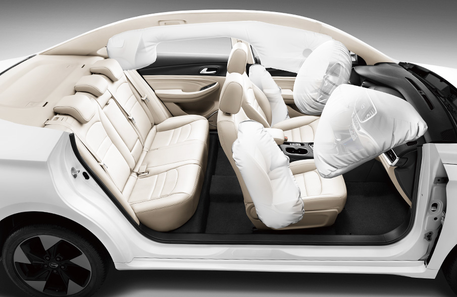 GAC GA4 6 airbags protection
