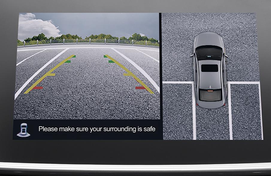 GAC GA4 360° panoramic parking system